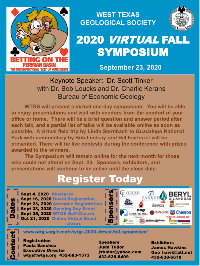 2020 Virtual Fall Symposium